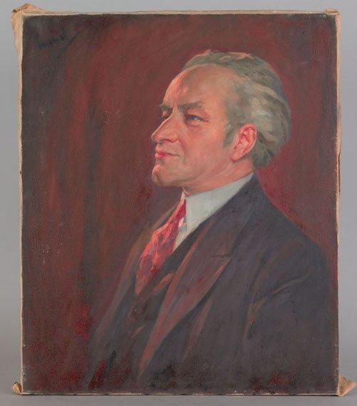 21: Edward Alfred Cucuel (American, 1875-1954), oil