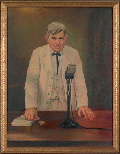 23: Hector Serbaroli (American, 1881-1951), oil on
