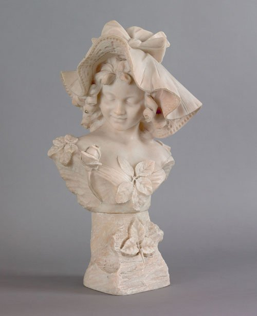 131: Giuseppe Bessi (Italian, 1857-1922), carved ala