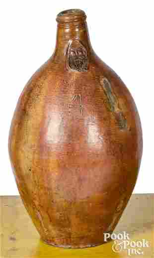 Large German stoneware Bellarmine jug