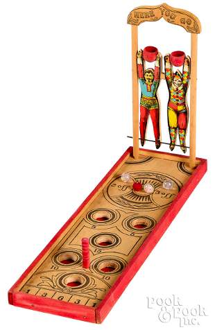 Circus figures marble game