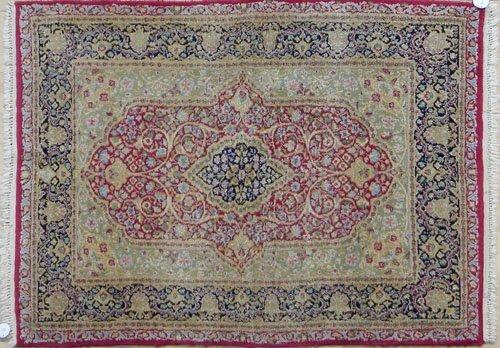 3: Pair of Kirman carpets, 5' x 3' 5''.