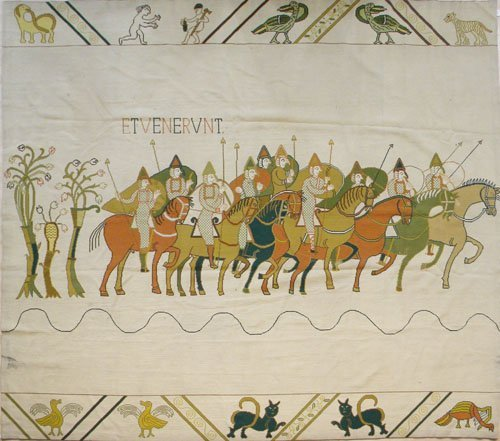 7: Large needlepoint tapestry, mid 20th c., 12' 9'' x