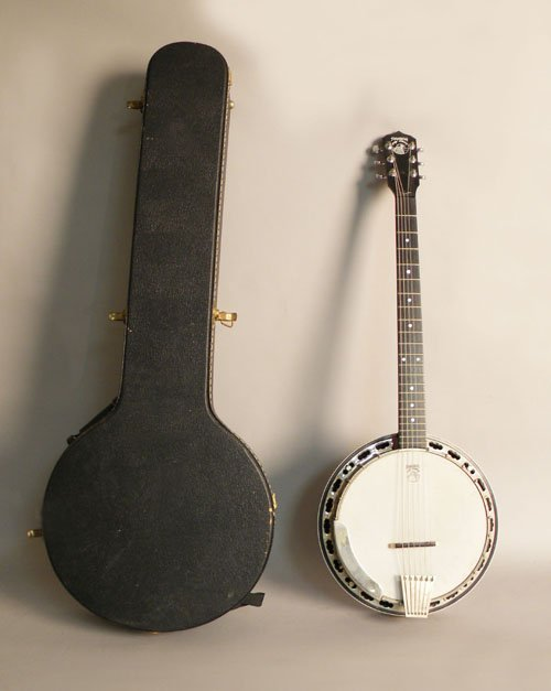 20: Deering six string banjo, 20th c.
