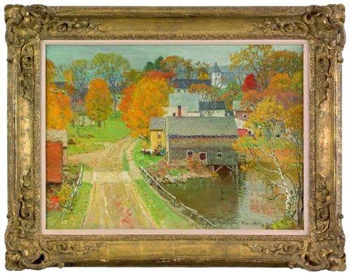 10: John Joseph Enneking (American, 1841-1916), oil