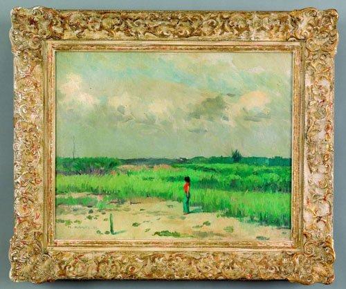 15: Maurice Molarsky (American, 1885-1950), oil on
