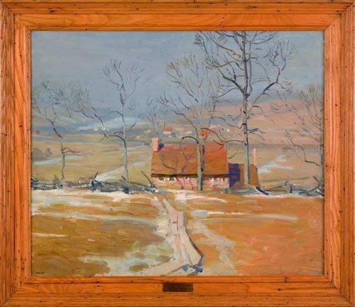 66: Newell Convers Wyeth (American, 1882-1945), oil