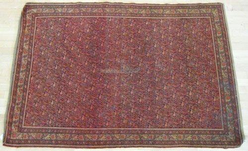 1: Malayer carpet, ca. 1910, 6' 2'' x 4' 2''.