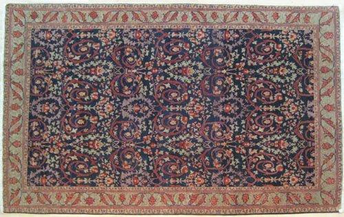 6: Contemporary Heriz carpet, 13' 4'' x 9' 7''.