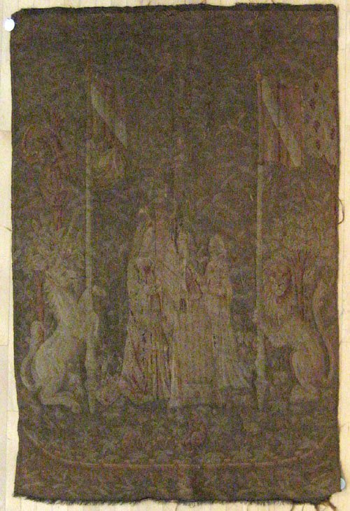 9B: Continental tapestry early/mid 20th c., 6' 4'' x 4