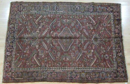 13: Heriz carpet mid 20th c., 10' 2'' x 7' 9''.