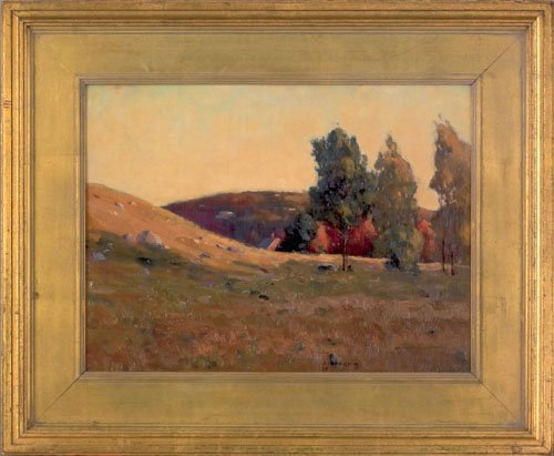 8: C. Crosby Allen (American, early 20th c.), oil