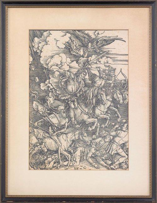 16: Albrecht Durer (German, 1471-1528), woodcut tit