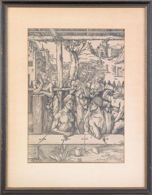 17: Albrecht Durer (German, 1471-1528), woodcut tit