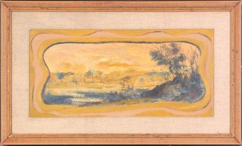 24: Louis Elshemus (American, 1864-1941), oil on bo