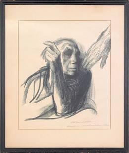 33: Kathe Kollwitz (German, 1867-1945), lithograph