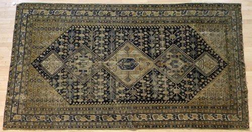 1: Hamadan carpet, ca. 1915, 10'2'' x 5'7''.