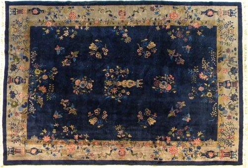 3: Chinese carpet, ca. 1930, 12' x 9'3''.
