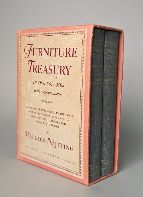 508: Nutting, Wallace Furniture Treasury, two volume