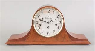 284 Seth Thomas mahogany mantle clock early 20th c
