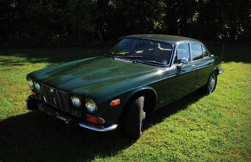 1: 1973 Jaguar XJ6 Series 1, approximately 73,000 or