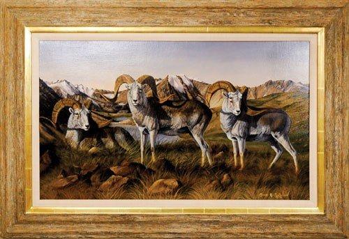 2: Gary Swanson (American, b. 1941), oil on canvas t
