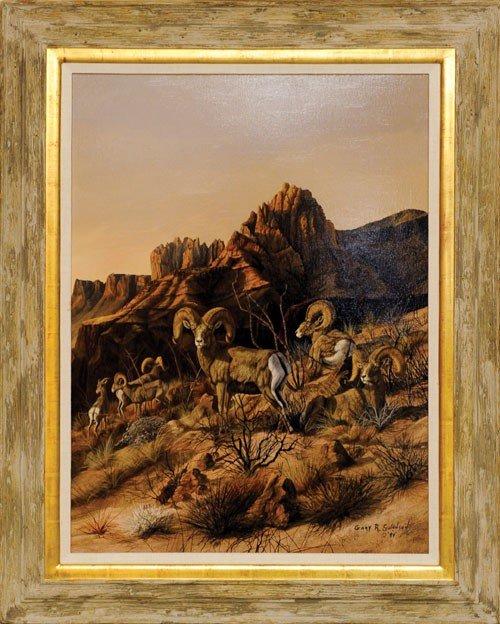 4: Gary Swanson (American, b. 1941), oil on canvas t