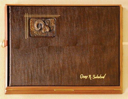 5: Gary Swanson (American, b. 1941), leather bound f