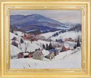 172: Emile Albert Gruppe (American 1896-1978), oil o