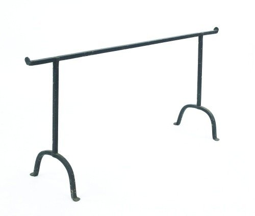 12: Group of wrought iron, 19th c., to include tramme