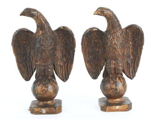 7: Pair of Leonardo Art Works, Inc. composition eagl