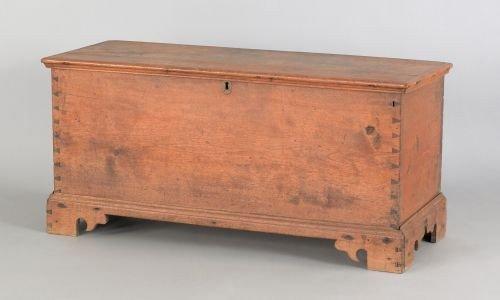 5: Diminutive Pennsylvania walnut blanket chest, ea