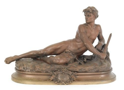 383: Leon Bonduel (French, 1857-1928), bronze titled
