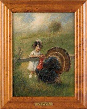 1567: Edward Percy Moran (American, 1862-1935), oil on