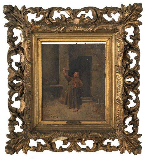 16: Cristobal de Antonio (Spanish, b. 1870), oil on p