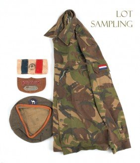 Group Of French Military Items, To Include A Jack
