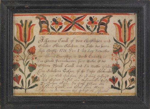 4: Johann Conrad Gilbert (Southeastern Pennsylvania