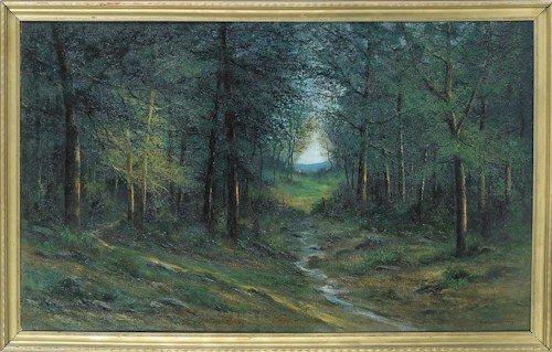 228: Victor Shearer (American, 1872-1951), oil on ca