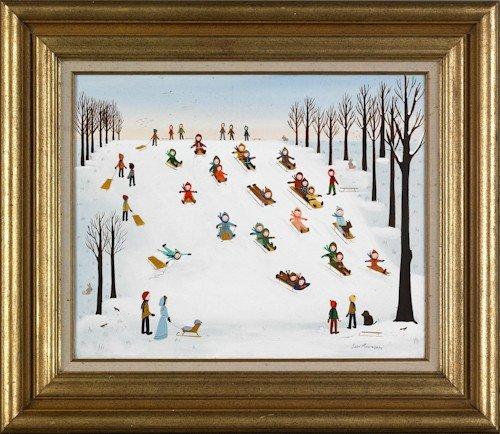 13: Judy Manthorpe (American, 20th c.), oil on canvas