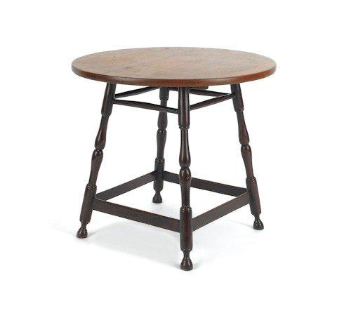 48: Diminutive pine tavern table, 22 1/2'' h., 25'' w.