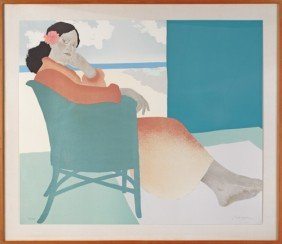 Pegge Hopper (American, 1936-), Limited Edition P