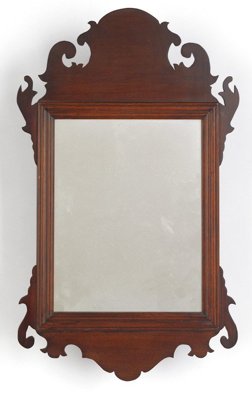 116: Colonial Williamsburg Chippendale style mahogany