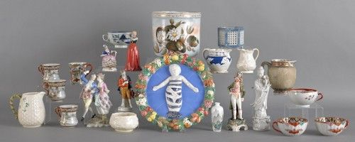 Large group of miscellaneous porcelain.