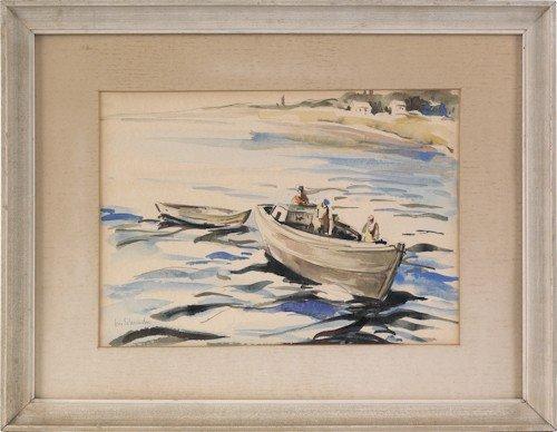 700: George Schwacha Jr. (American, 1908-1986), waterc