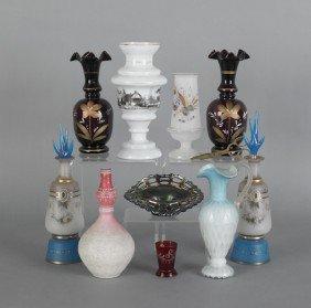 Miscellaneous Glassware, 19th/20th C., To Include