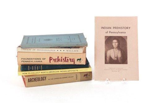 808: Seven Native American reference books.