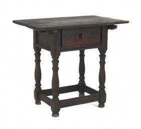 Pennsylvania William & Mary Walnut Table, Ca. 17