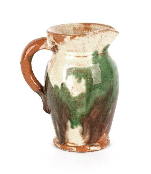 132: Shenandoah Valley pitcher, late 19th c., with c