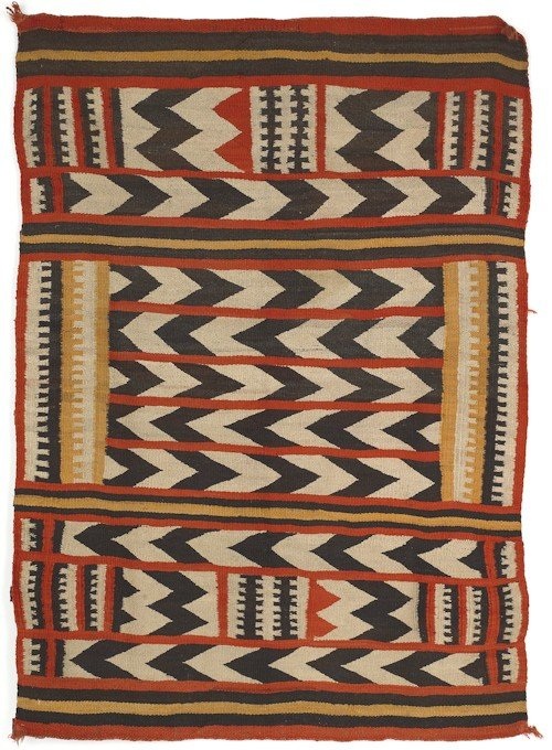 261: Southwest regional Navajo rug, early 20th c., 7