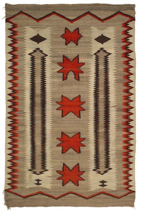 263: Southwest regional Navajo rug, early 20th c., 7